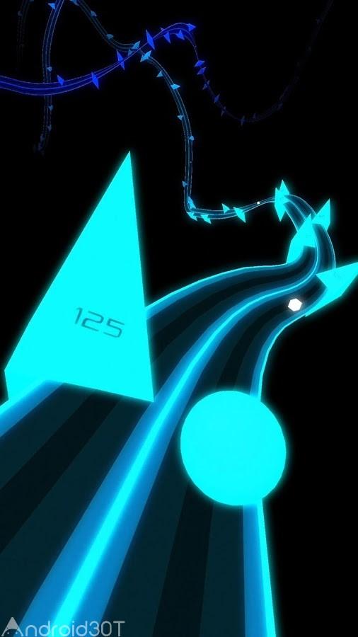 دانلود Rush 1.0 – بازی هیجان انگیز و سرعتی توپ حرکتی اندروید
