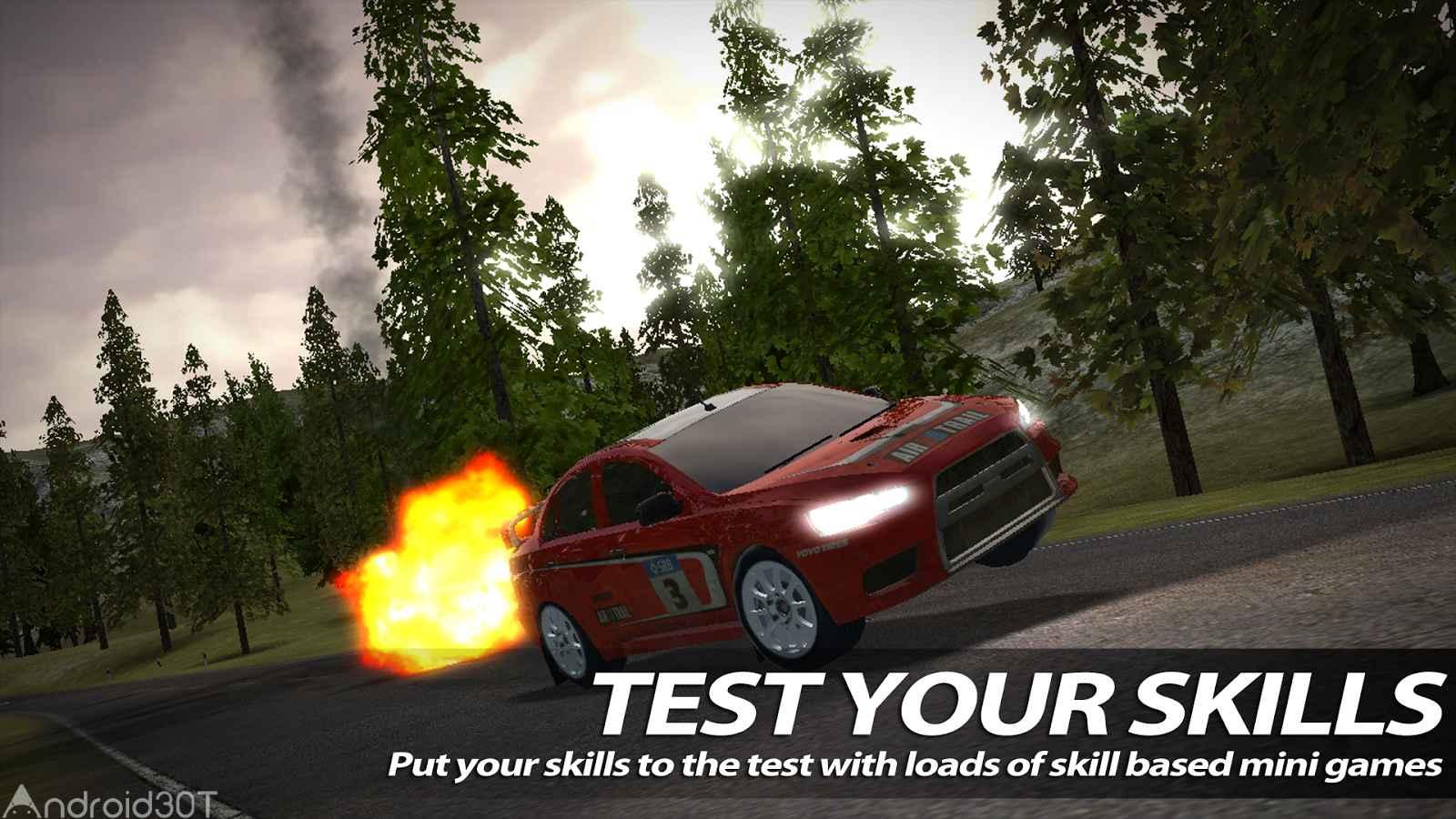 دانلود Rush Rally 2 v1.138 – بازی مسابقه ای اتومبیل رانی اندروید