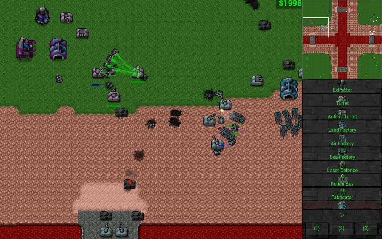 دانلود Rusted Warfare – RTS Strategy 1.11 – بازی استراتژیکی آنلاین 2017 اندروید