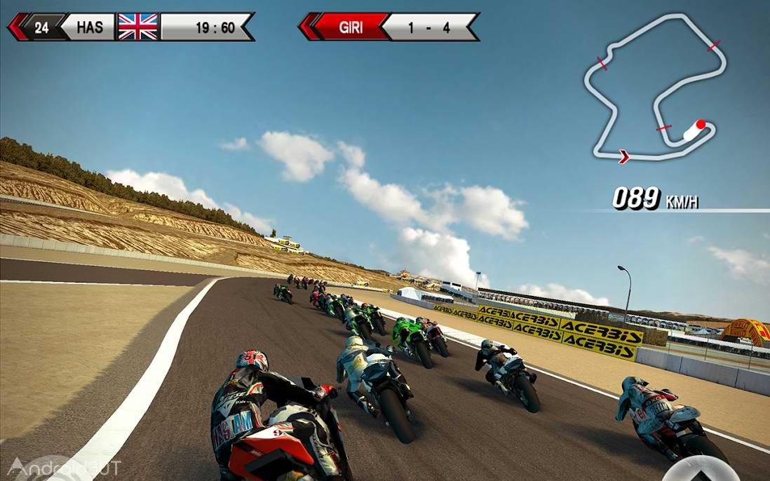 دانلود SBK15 Official Mobile Game 1.5.1 – بازی مسابقات موتور سواری برای اندروید