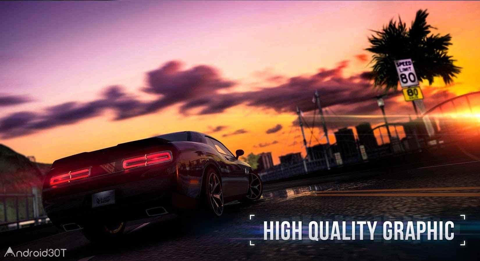 دانلود SR: Racing 1.38 – بازی جذاب مسابقات خیابانی اندروید