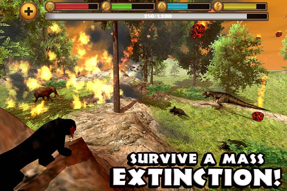 Sabertooth Tiger Simulator