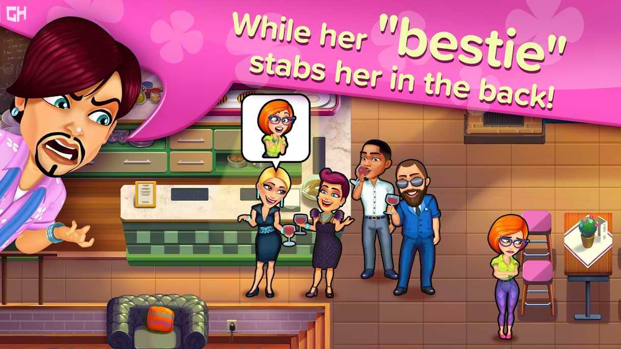 دانلود Sally's Salon: Kiss 1.6 – بازی دخترانه سالن آرایشی سالی اندروید