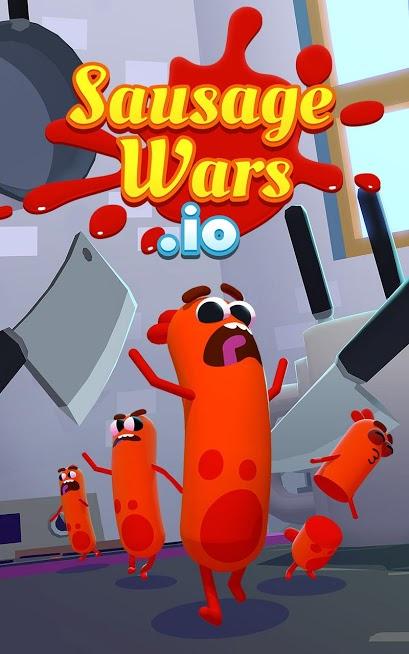 دانلود Sausage Wars.io 1.7.1 – بازی رقابتی جنگ های سوسیسی اندروید