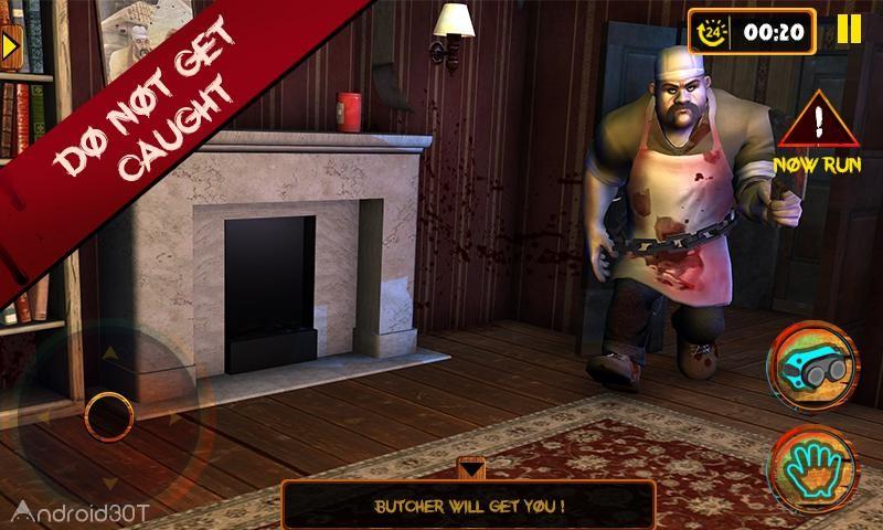 دانلود Scary Butcher 3D 1.1 – بازی چالش انگیز قصاب ترسناک اندروید