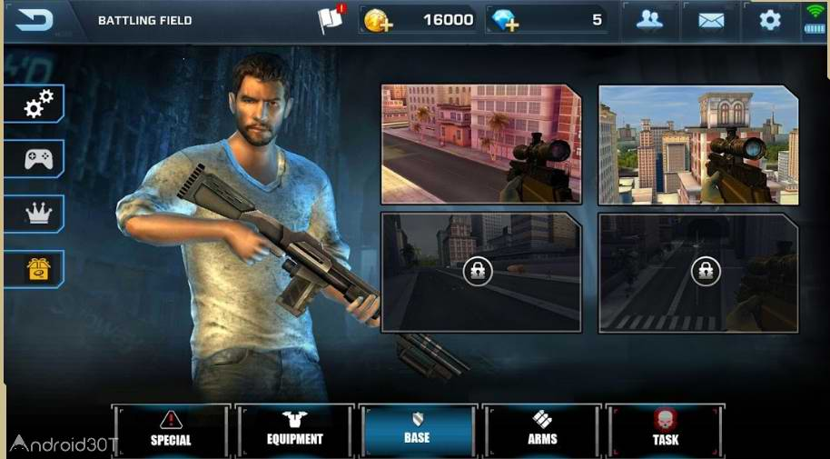 Scum Killing : Target Siege Shooting Game