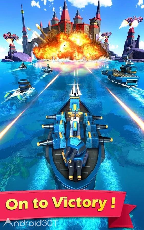 دانلود Sea Game 1.9.15 – بازی استراتژیکی دریایی برای اندروید