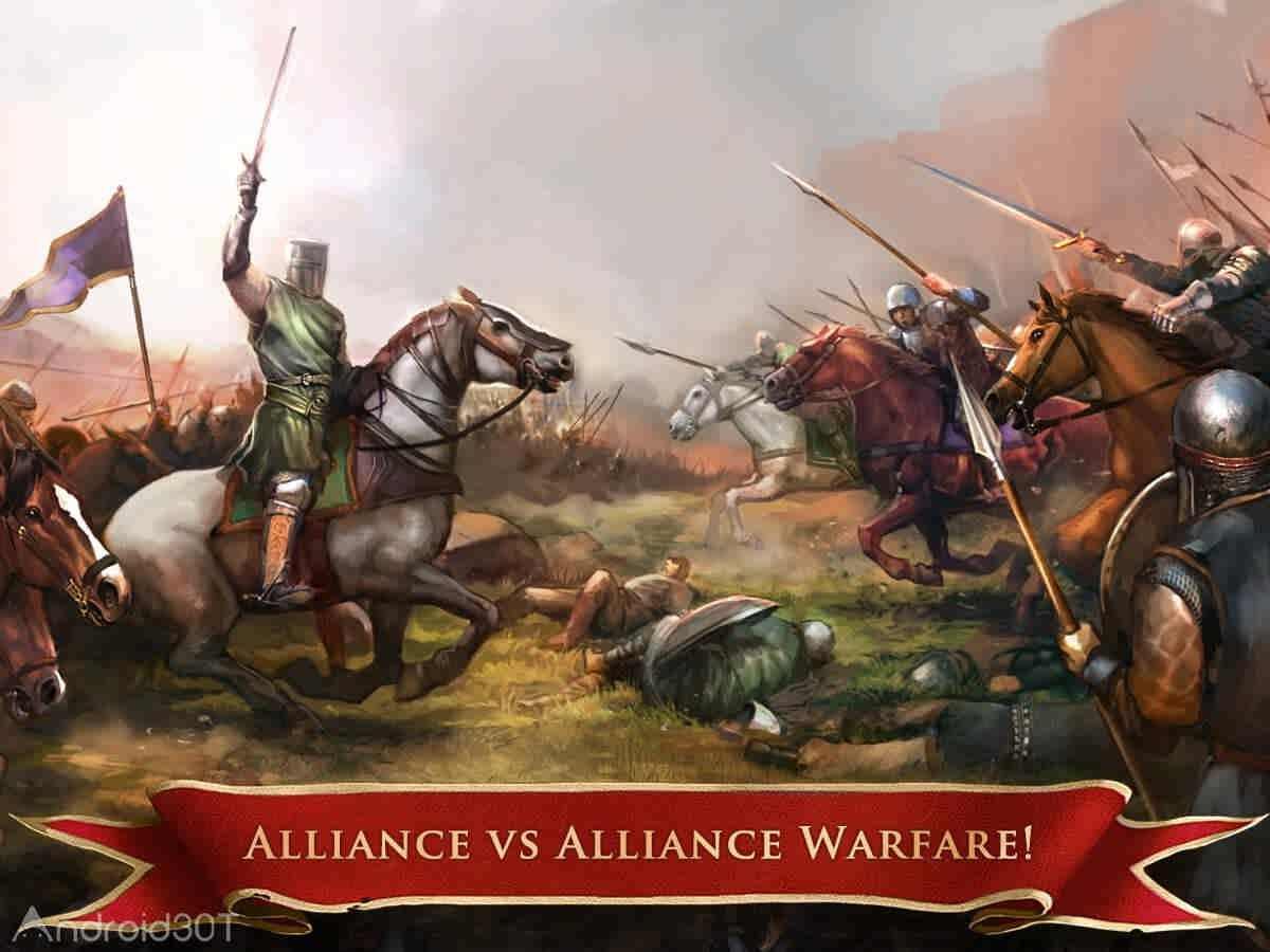 دانلود 8.0.23 Seasons of War – بازی استراتژیکی فصل جنگ اندروید