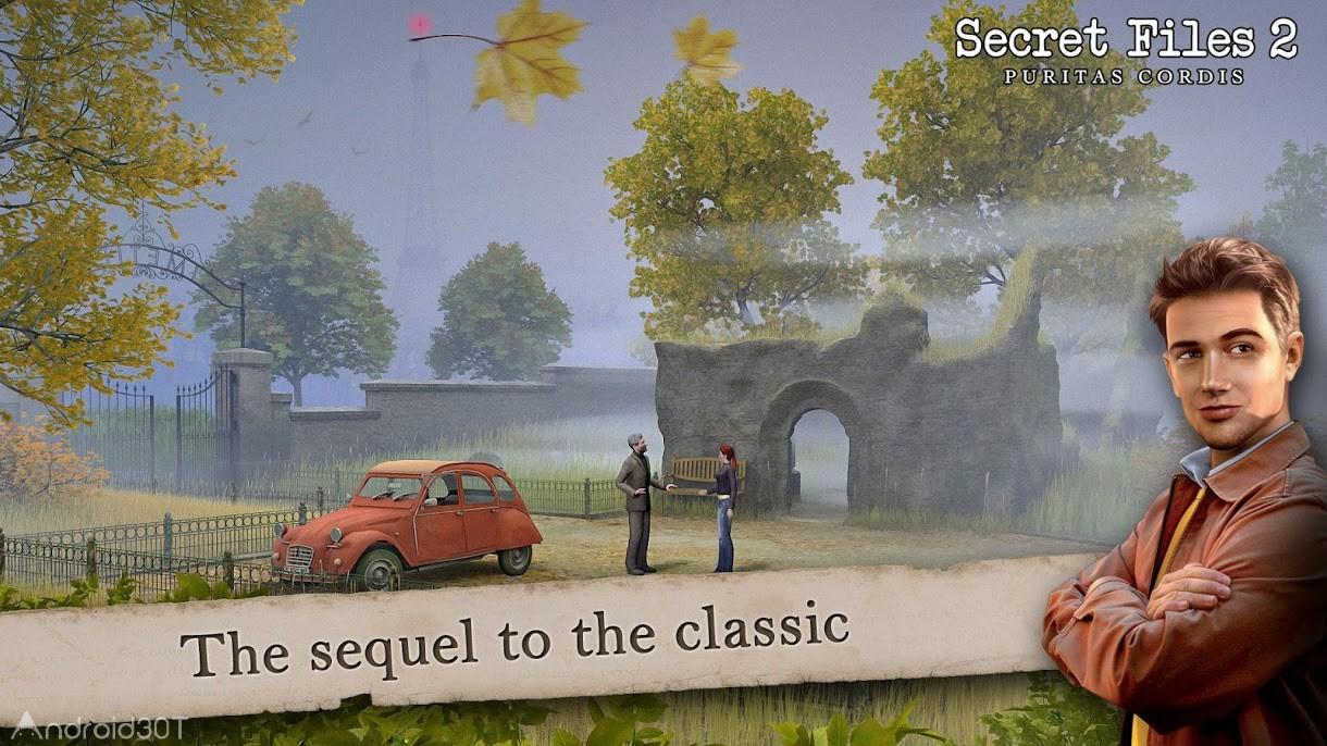 دانلود Secret Files 2: Puritas Cordis 1.2.4 – بازی ماجراجویی متفاوت برای اندروید