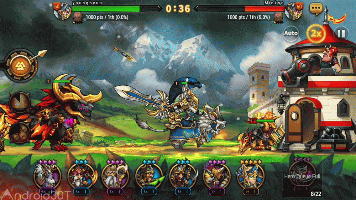 دانلود Seven Guardians 1.2.50 – بازی استراتژیک هفت نگهبان اندروید