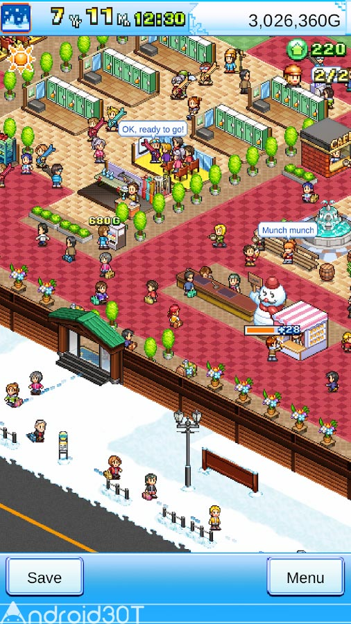 دانلود Shiny Ski Resort 1.1.3 – بازی جذاب مدیریت هتل اندروید