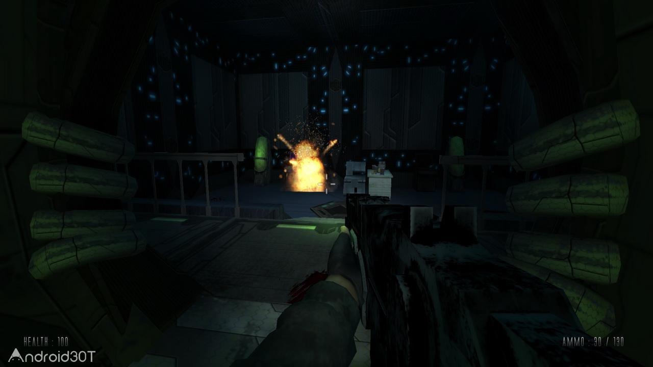 دانلود Shoot Your Nightmare: Space Isolation 1.0 – بازی شلیک به زامبی برای اندروید