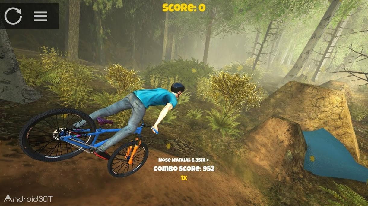 دانلود Shred! 2 – Freeride Mountain Biking 1.6.0.3 – بازی دوچرخه سواری جدید برای اندروید