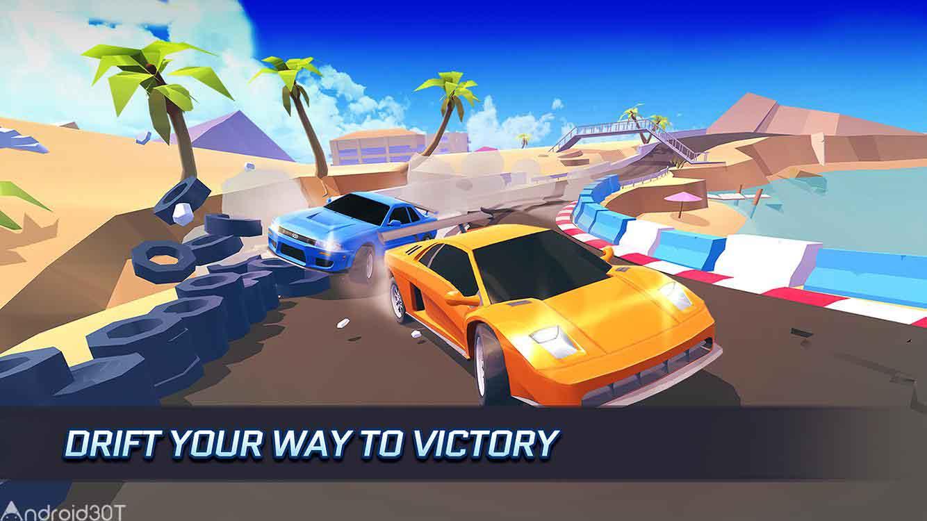 دانلود SkidStorm 2.0.168 – بازی مسابقه ای طوفان ماشین ها اندروید
