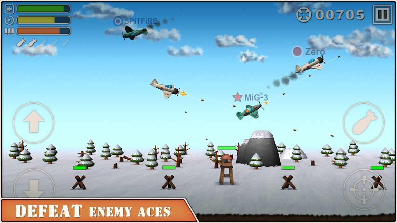 دانلود Sky Aces 2 1.03 – بازی رقابتی آسمان خراش های 2 اندروید