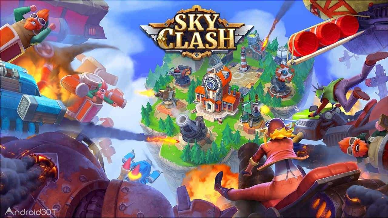 دانلود Sky Clash: Lords of Clans 3D 1.52.5246 – بازی نبرد آسمانی: اربابان قبایل اندروید