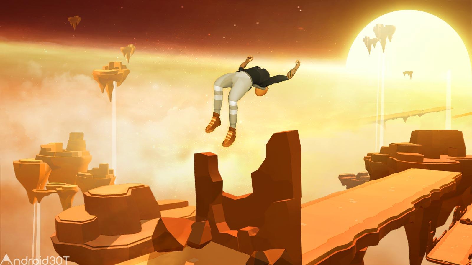 دانلود Sky Dancer Run 3.8.7 – بازی ماجراجویی دونده آسمان اندروید