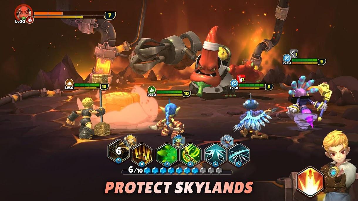 دانلود Skylanders™ Ring of Heroes 1.0.8 – بازی نقش آفرینی اندروید