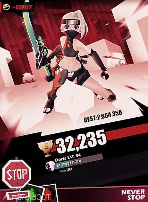 دانلود Slash&Girl 1.35.5023 – بازی اکشن جالب برای اندروید