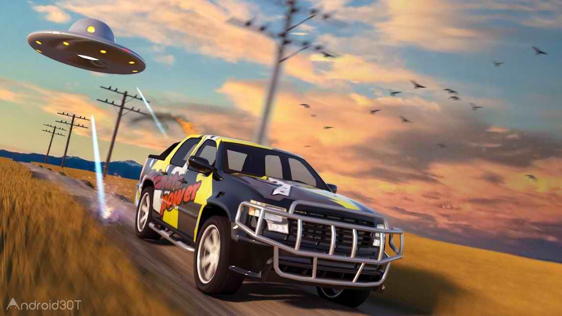 دانلود Smash Car Revolution 1.1 – بازی مسابقه ای تخریب ماشین ها اندروید