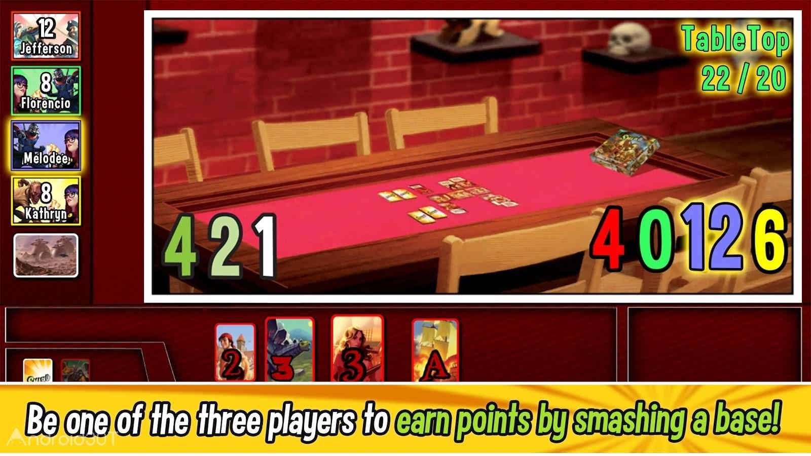 دانلود Smash Up – The Shufflebuilding Game 1.10.00.16 – بازی تخته ای متفاوت اندروید