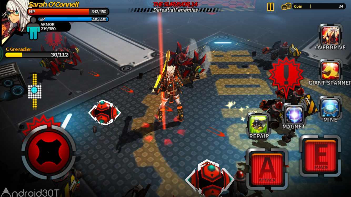 دانلود Smashing The Battle 1.09 – بازی اکشن جنگ با ربات ها اندروید