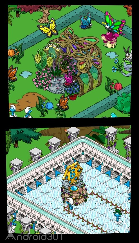 دانلود Smurfs' Village v2.01.0 – بازی دهکده اسمورف ها اندروید