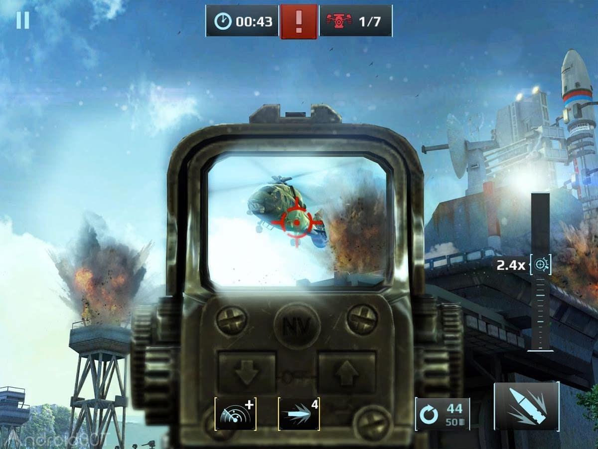 دانلود Sniper Fury 5.7.0e – بازی اکشن خشم تک تیرانداز اندروید