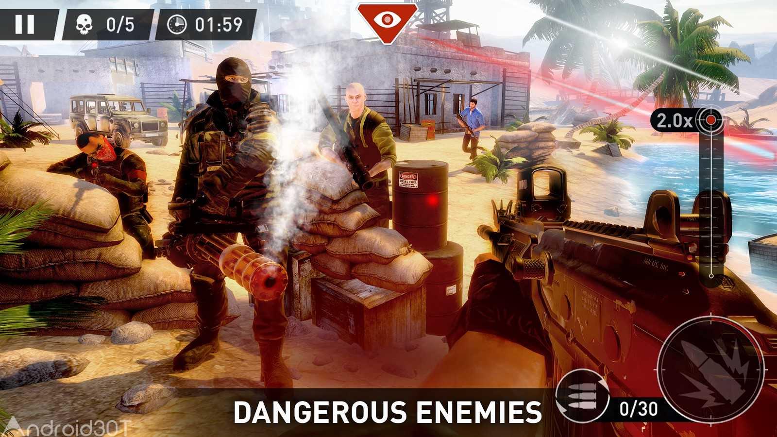 دانلود Sniper: Ghost Warrior 1.1.3 – بازی عالی اکشن اسنایپر اندروید