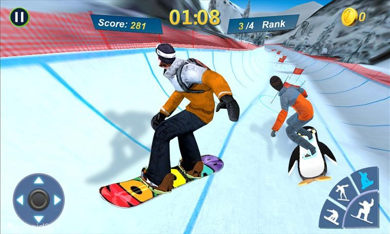دانلود Snowboard Master 3D 1.2.2 – بازی مهیج ورزش اسنوبورد اندروید