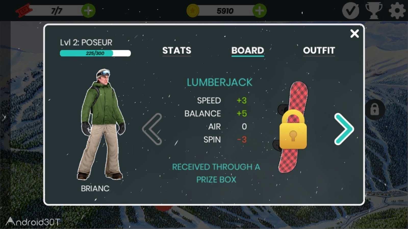 دانلود Snowboard Party: Aspen 1.3.2 – بازی اسنوبورد برای اندروید