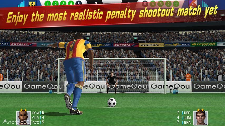 دانلود Soccer Shootout 0.9.5 – بازی فوتبالی سه بعدی اندروید