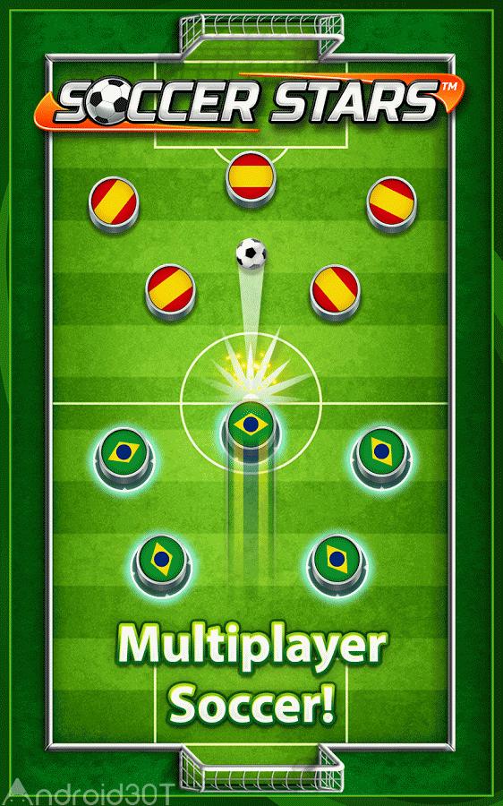 دانلود Soccer Stars 4.5.2 – بازی زیبای ستاره های فوتبال اندروید