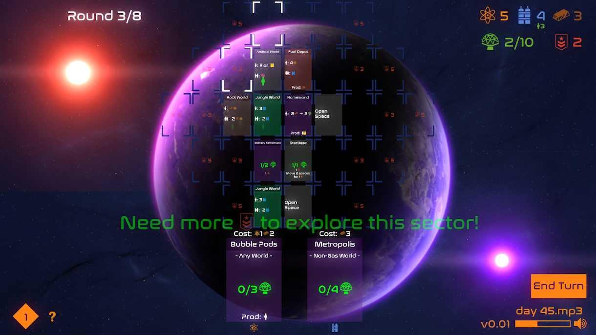دانلود Solar Settlers v1.023 – بازی تخته ای برای اندروید