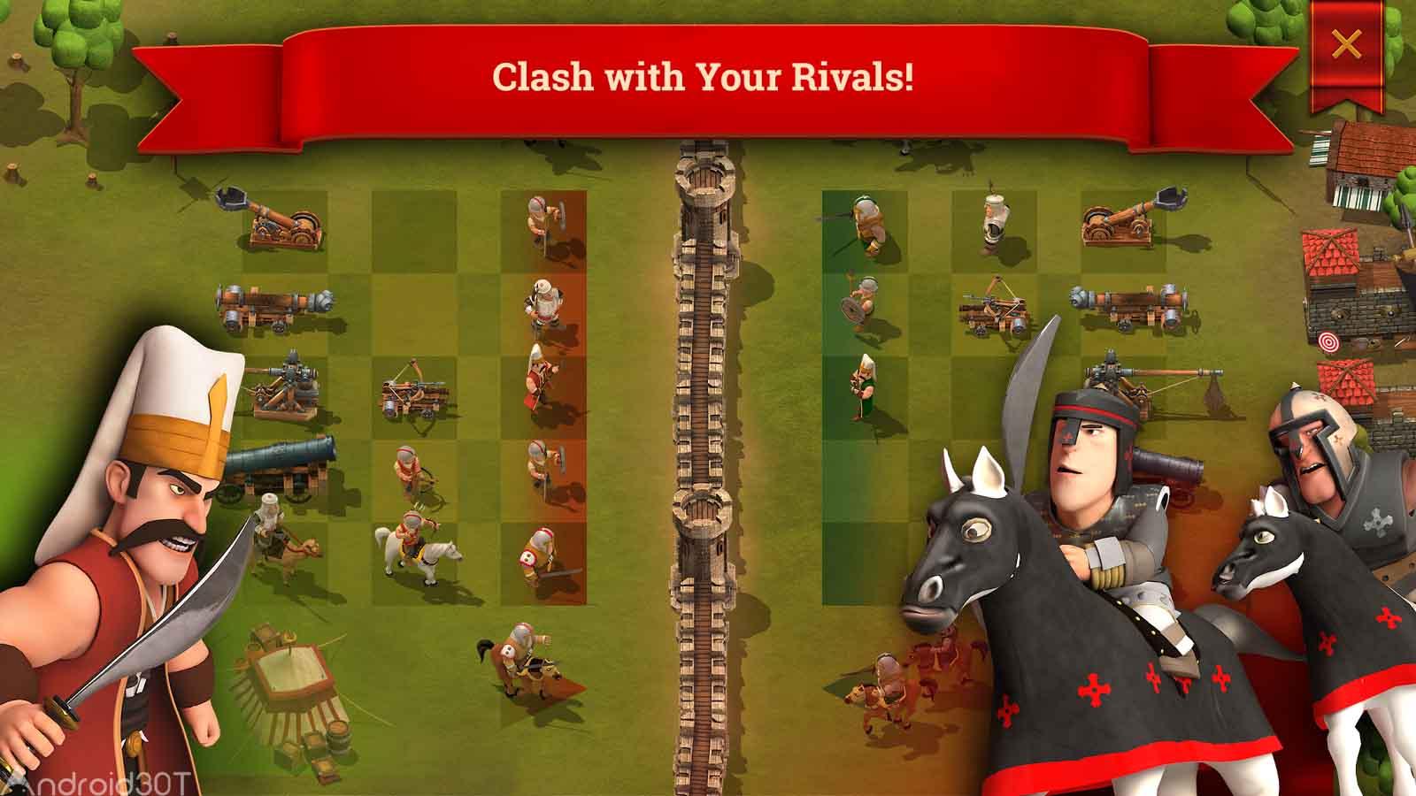 دانلود Son Kale 2.2.4 – بازی استراتژی آخرین قلعه اندروید