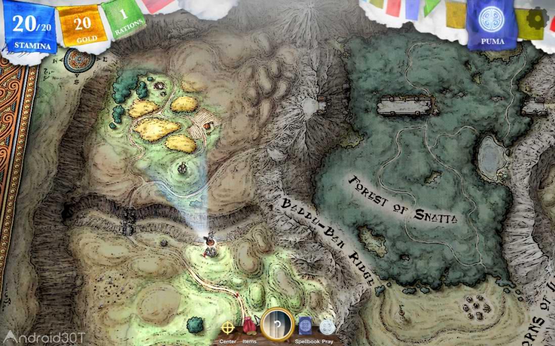 دانلود Sorcery! 3 1.2.8b5 – بازی ماجراجویی جادوگری 3 اندروید