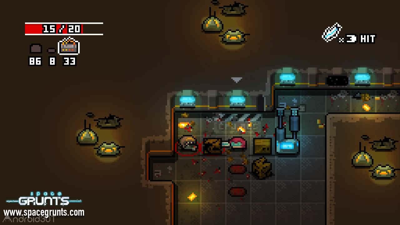 دانلود Space Grunts 1.7.3 – بازی استراتژیک گروه فضایی اندروید