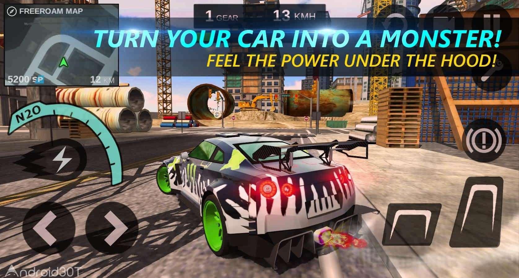 دانلود Speed Legends 2.0.1 – بازی اتومبیلرانی دیتادار اندروید