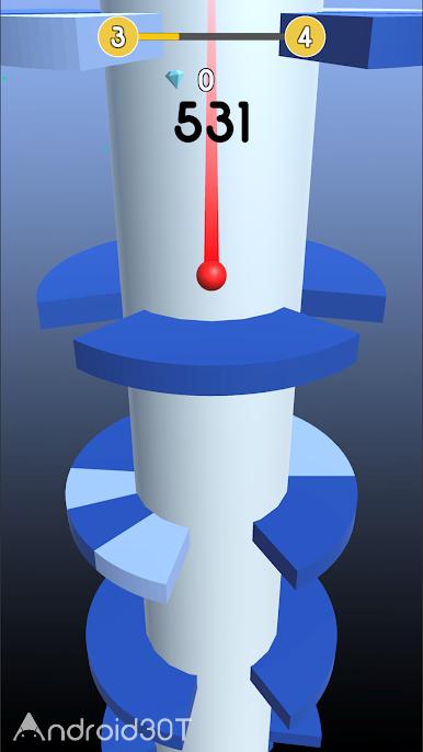 دانلود Spiral 3D 7.0 – بازی اعتیادآور اسپیرال اندروید