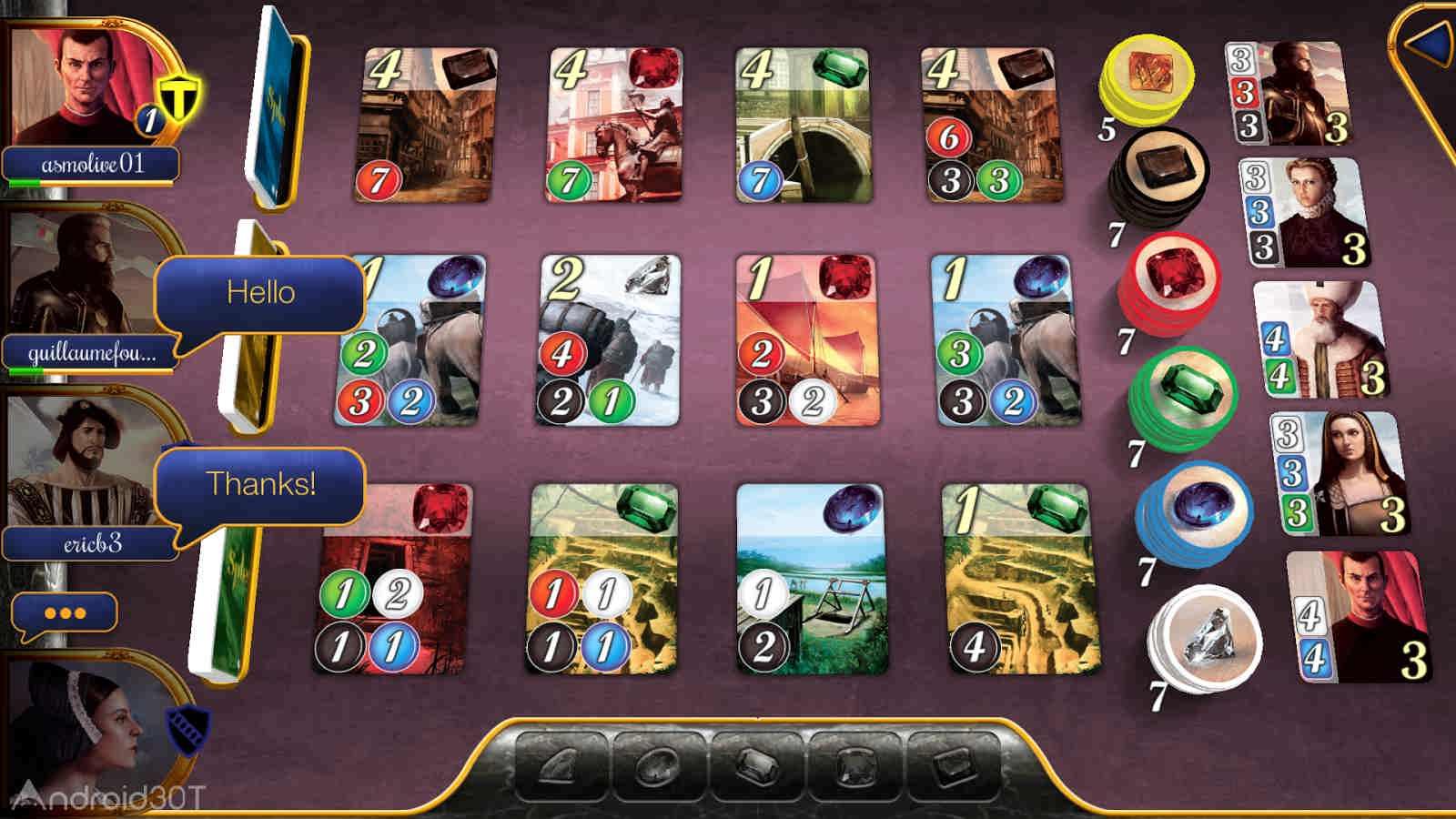 دانلود Splendor 2.4.0 – بازی فکری شکوه و جلال اندروید