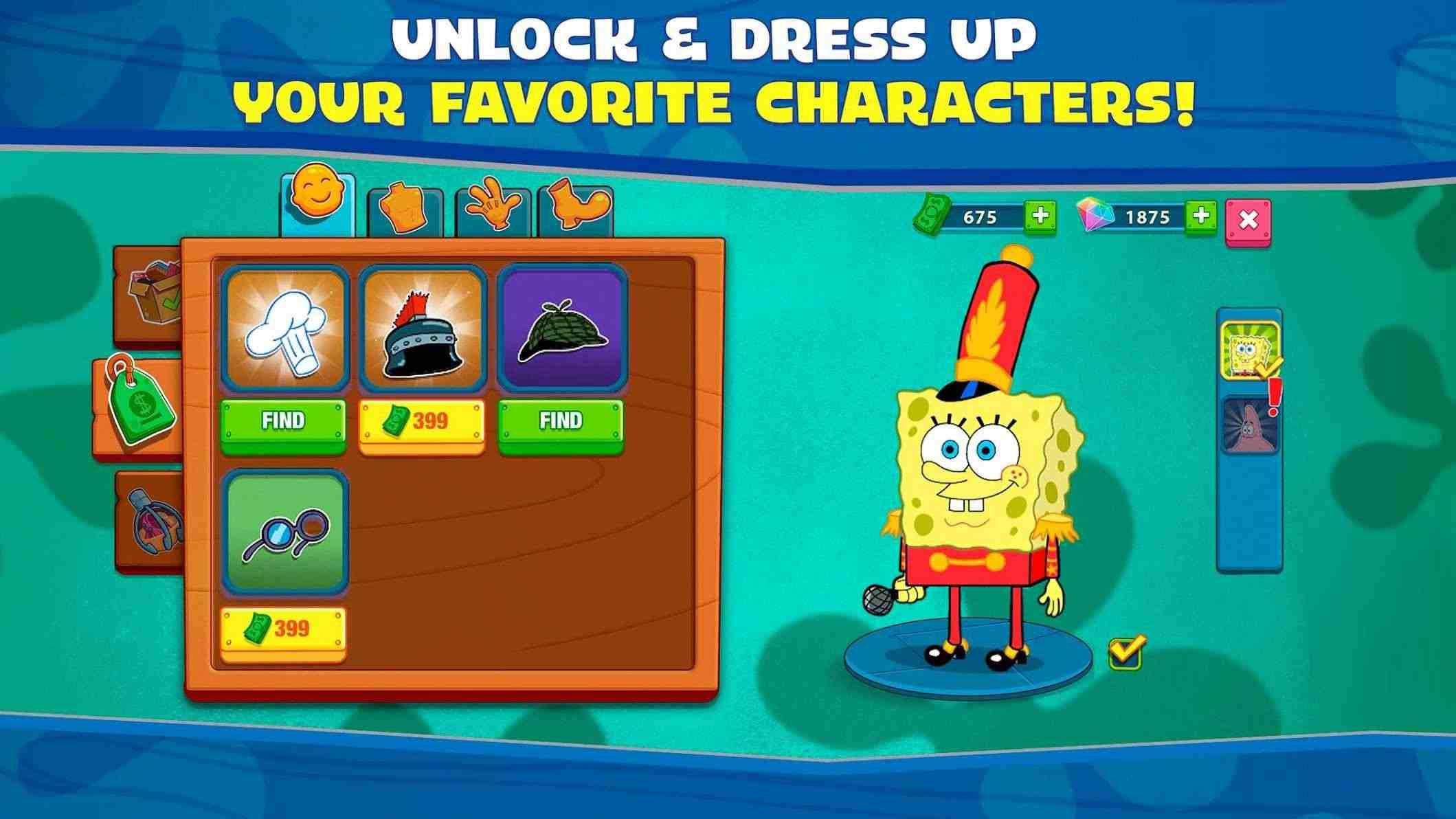 دانلود SpongeBob: Krusty Cook-Off 4.3.1 – بازی تفننی آشپزی با باب اسفنجی اندروید