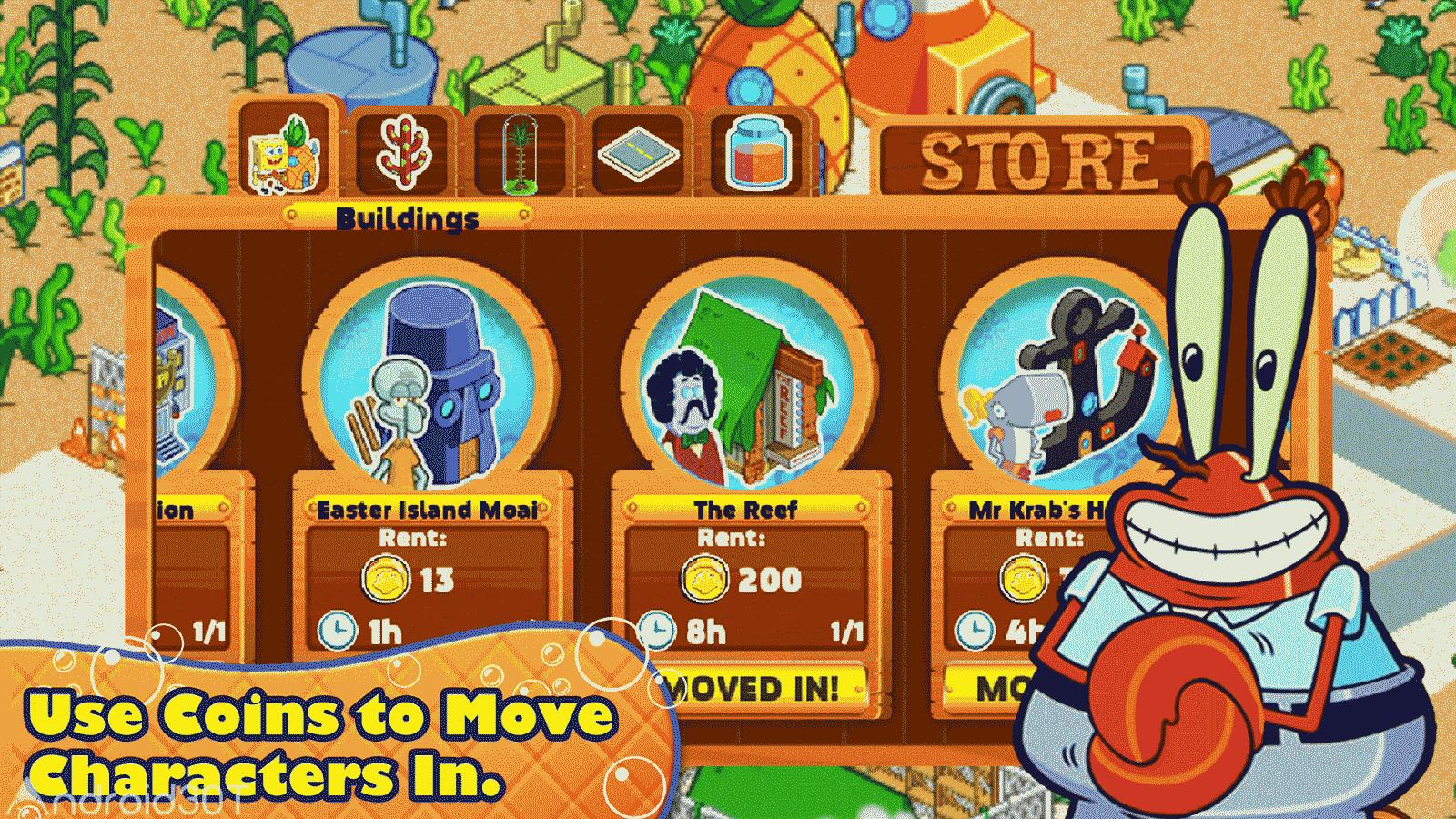 SpongeBob Moves In 4.37.00 – بازی باب اسفنجی اندروید + دیتا