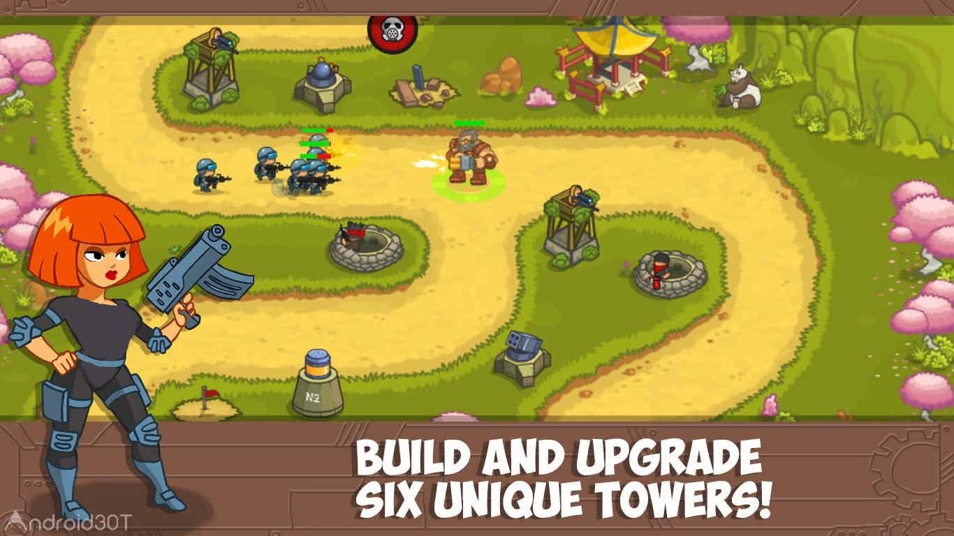 دانلود Steampunk Defense Premium 2.0.3 – بازی استراتژیک برج دفاعی اندروید