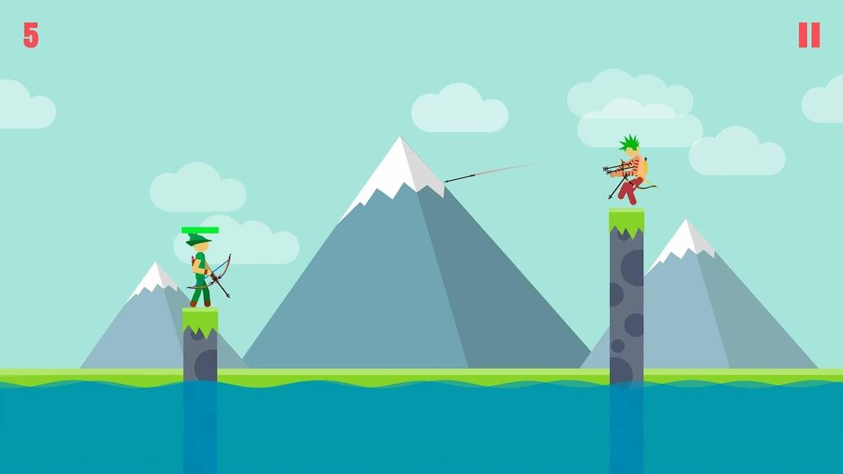 دانلود Stickman Archer 2 v2.3.1 – بازی استیکمن کماندار 2 اندروید