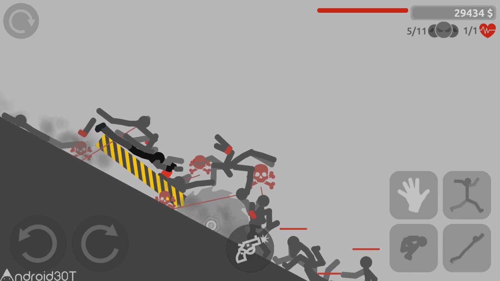 دانلود Stickman Backflip Killer 4 0.1 – بازی اکشن استیکمن قهرمان 4 اندروید