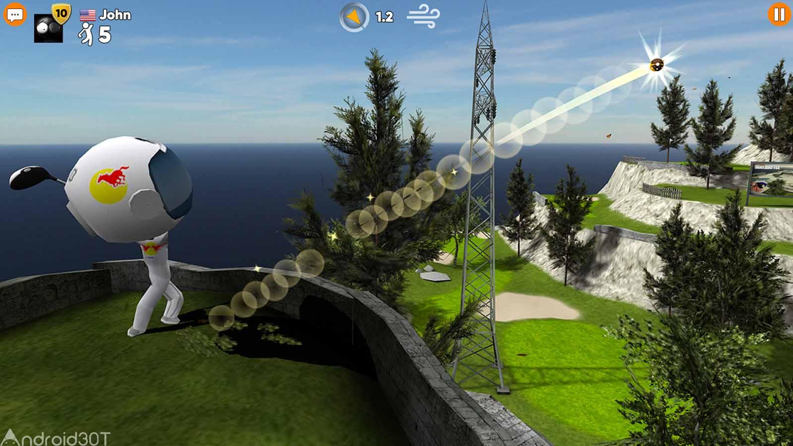 دانلود Stickman Cross Golf Battle 1.0.5 – بازی رقابت گلف استیکمن ها اندروید