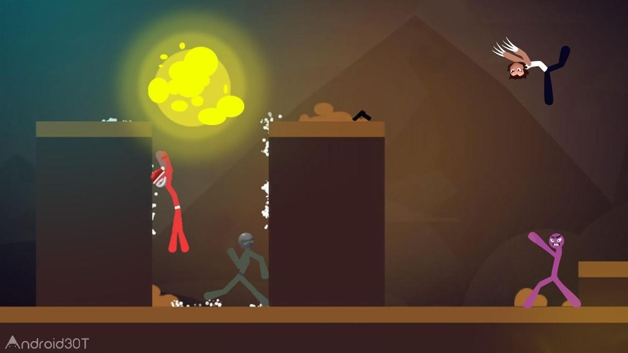 دانلود Stickman Fight: The Game 1.3.7 – بازی نبرد استیکمن اندروید