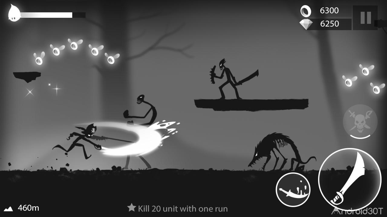 دانلود Stickman Run: Shadow Adventure 1.2.10 – بازی اکشن دوی استیکمن اندروید