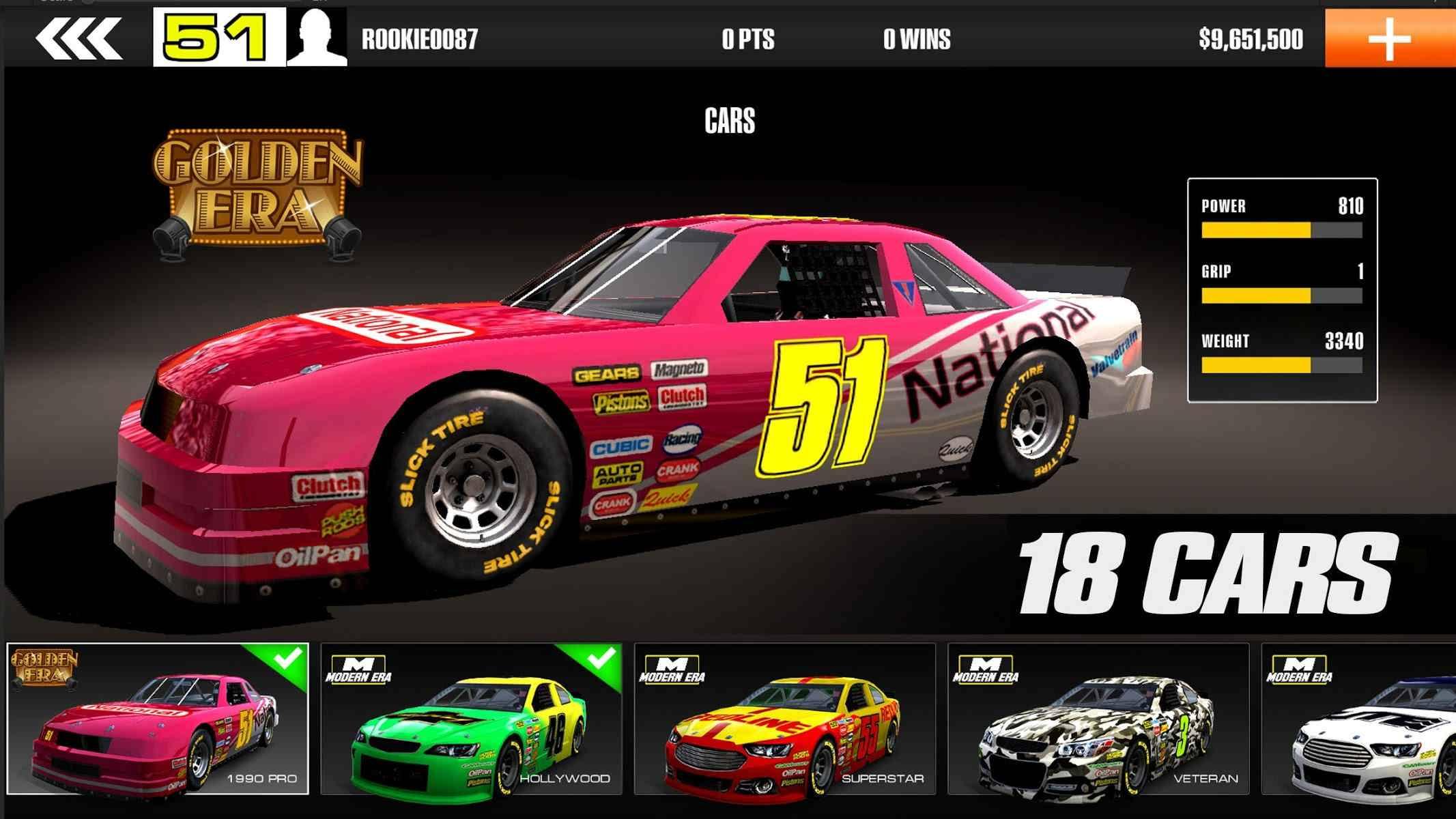 دانلود Stock Car Racing 3.3.3 – بازی مسابقات اتومبیل رانی اندروید