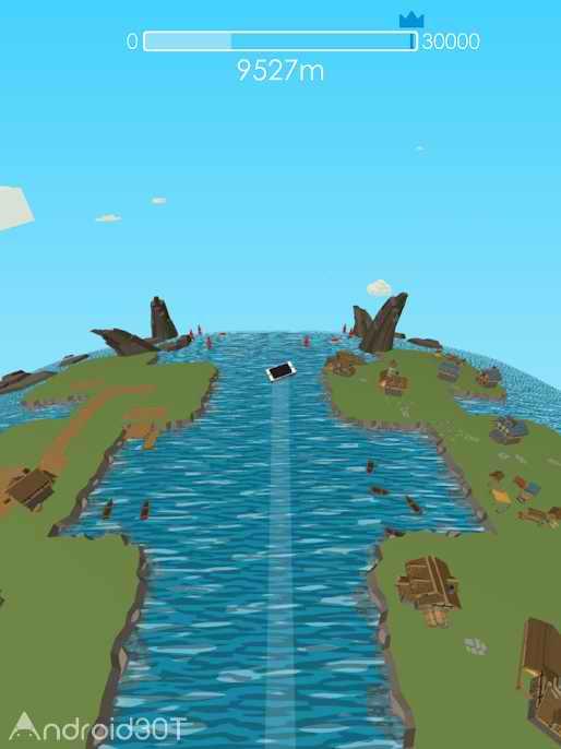 دانلود Stone Skimming 1.5 – بازی چالش انگیز شنا در آب برای اندروید